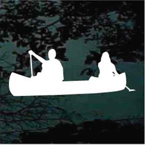 Couple In Canoe