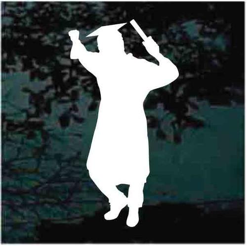 Happy Graduate Decals