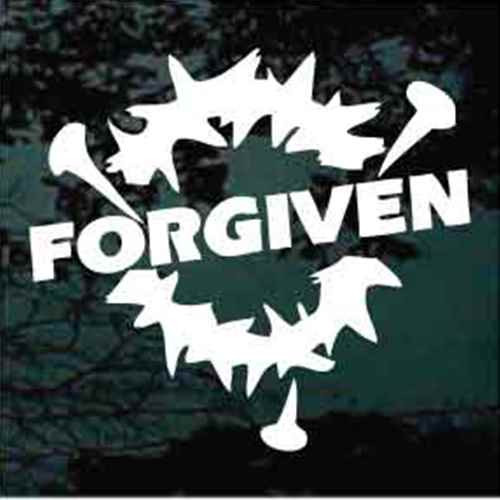 Forgiven Crown Of Thorns Decals