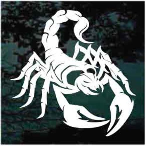 Dangerous Scorpion Decals