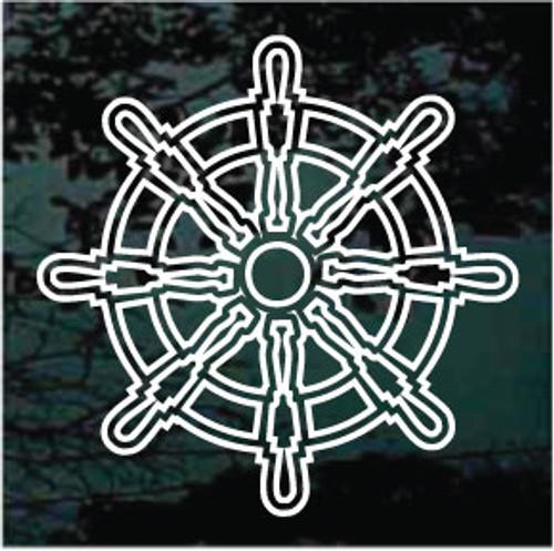 Outline Captain's Wheel