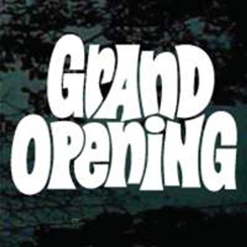 Retro Grand Opening