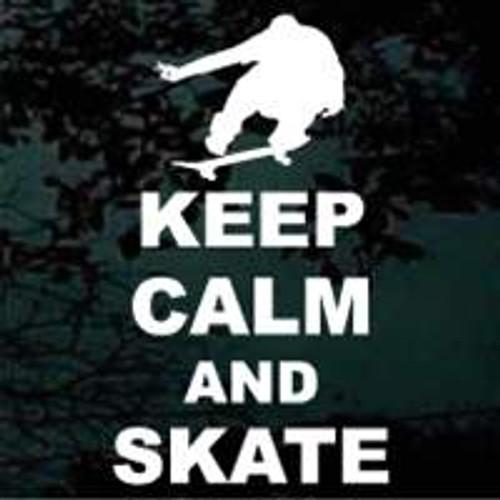 Keep Calm And Skate 02
