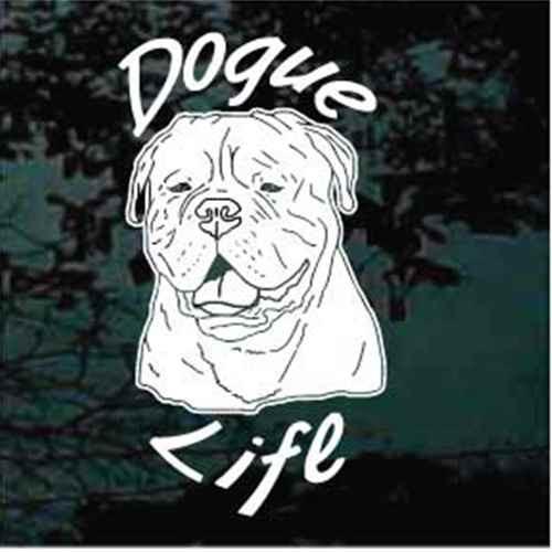 Dogue Life Window Decal