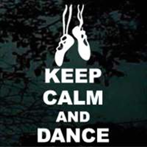 Keep Calm & Dance Decals