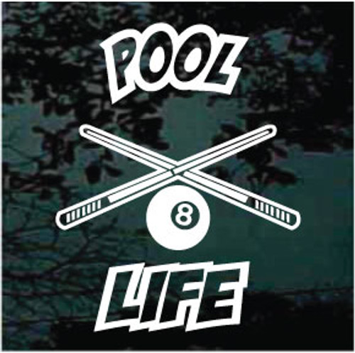 Pool Life Decals