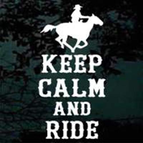 Keep Calm & Ride Horse 01