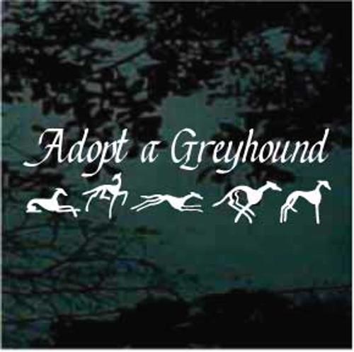 Adopt A Greyhound Decals