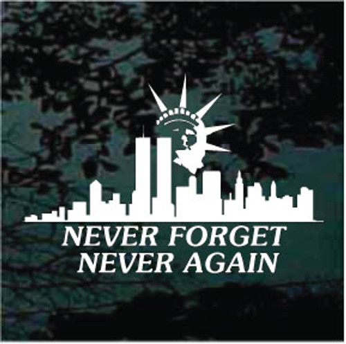 Liberty Tribute 911 Window Decals