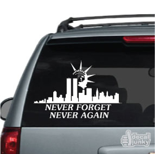 Liberty Tribute 911 Car Decals