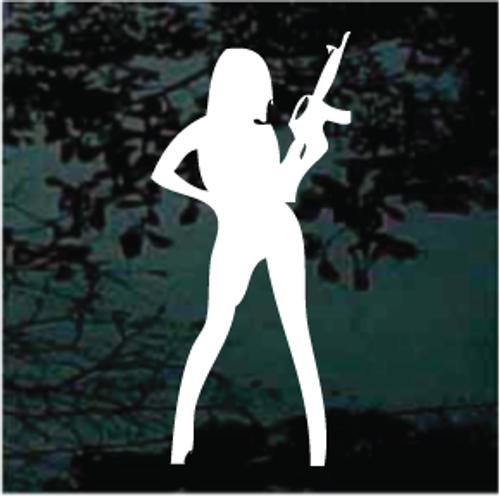 Girl With Gun 06