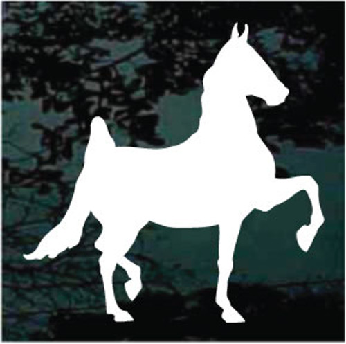Solid American Saddlebred Horse Decals