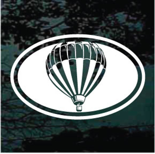 Hot Air Balloon Oval