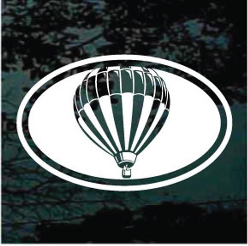 Hot Air Balloon Oval