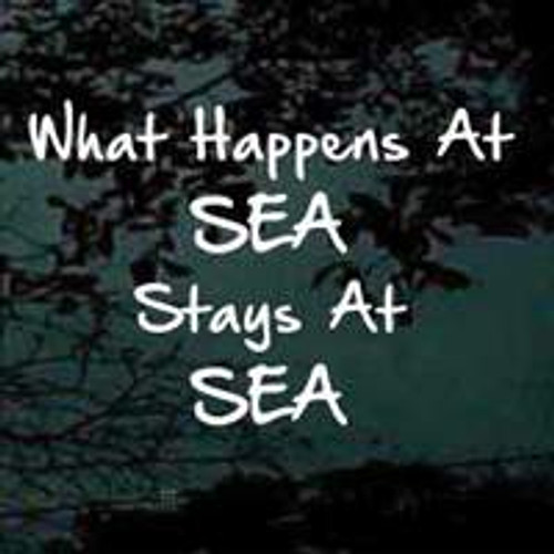What Happens At SEA Stays At SEA Decals