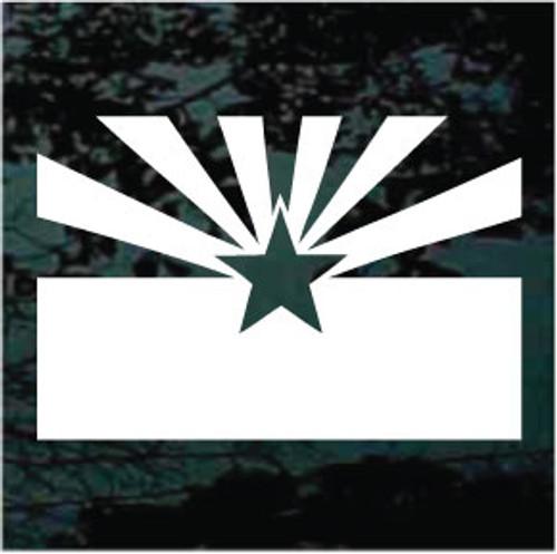 Arizona Flag Flat Single Color