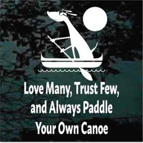 Love Many Trust Few