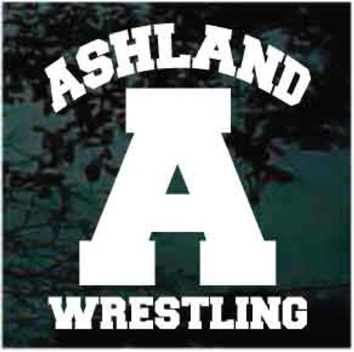 Ashland Wrestling Decals