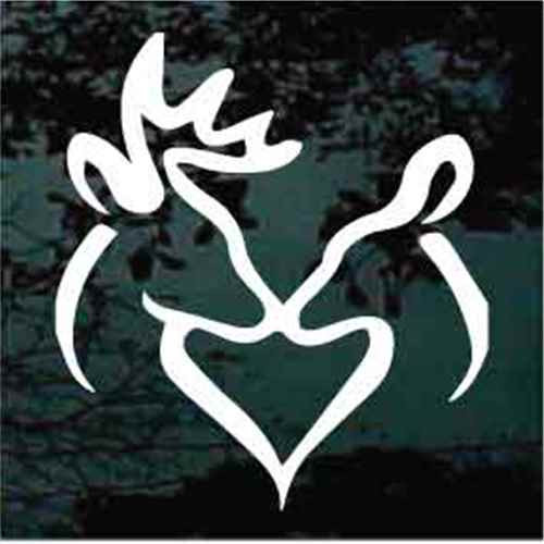 Deer Buck Doe Heart