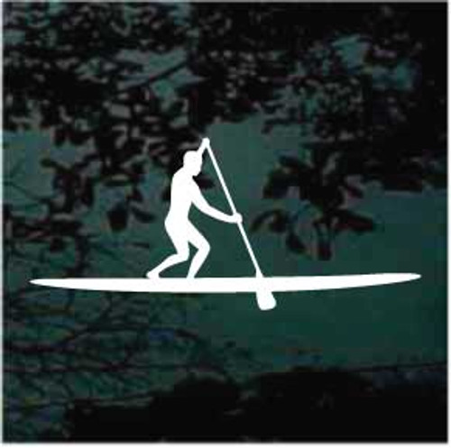 Paddleboarding 04 Window Decal