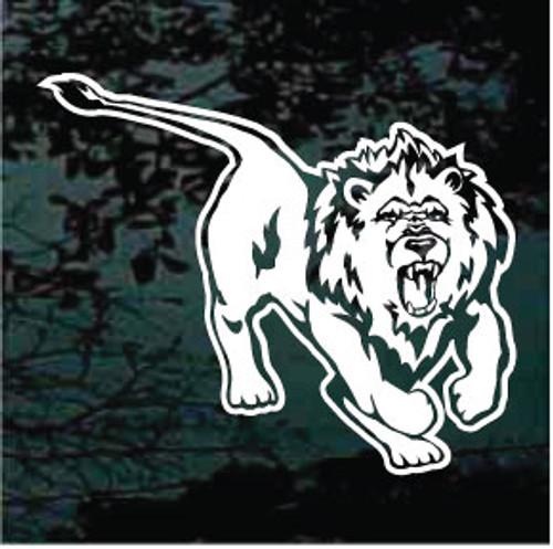 Ferocious Lion Window Decals