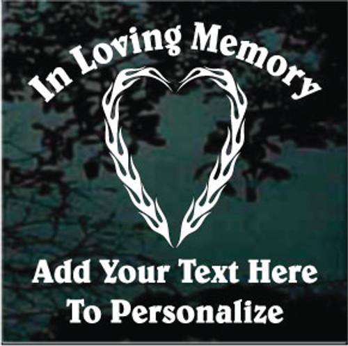 Flaming Heart Memorial