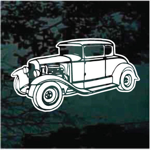 1930 Ford Model A Window Decals