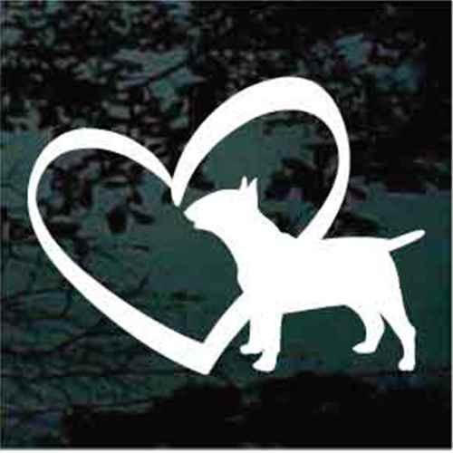 Bull Terrier Inside Heart