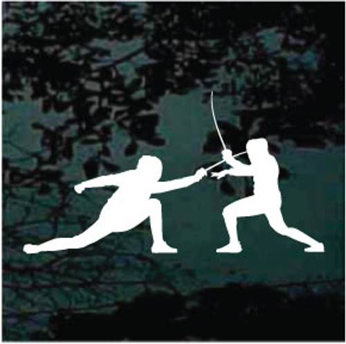 Competitive Fencing Decals