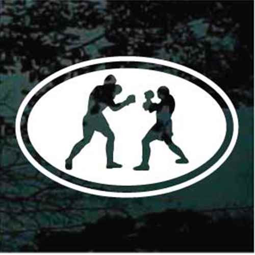 Oval Boxing Decals