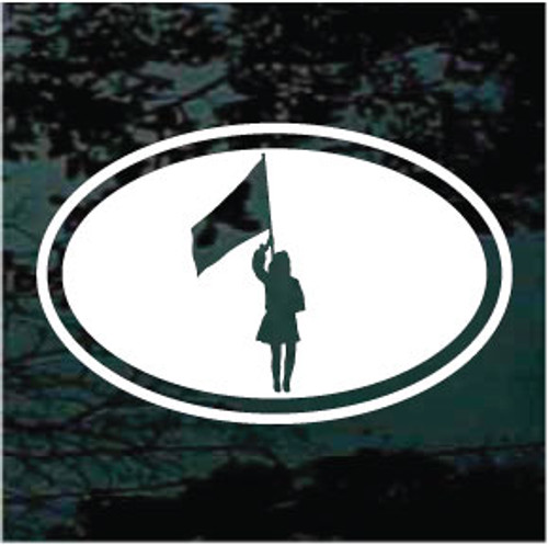Color Guard Oval Decals