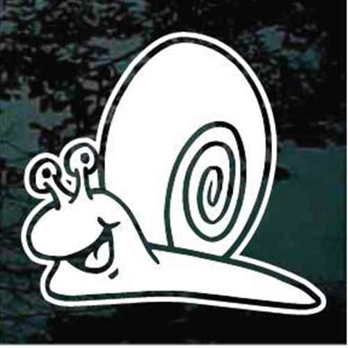 Cartoon Snail Decals