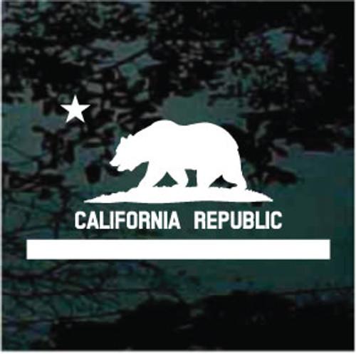 California Flag Single Color