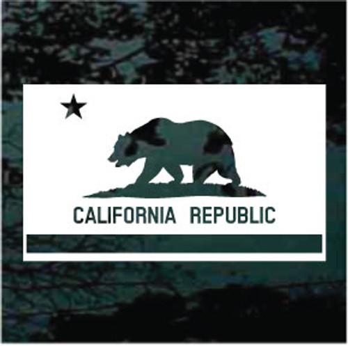 California Flag Cut Out