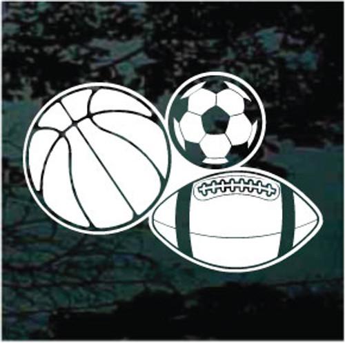 Basketball Football Soccer