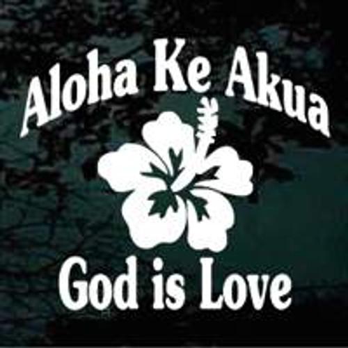 Hawaiian Aloha Ke Akua