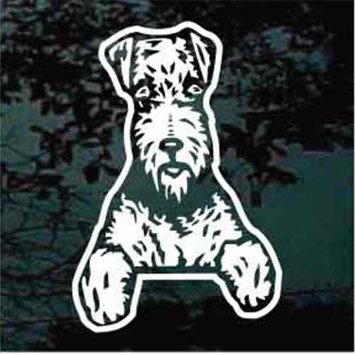 Cute Airedale Terrier Decals