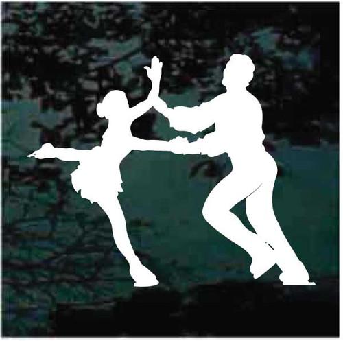 Ice Dancing Partners Decals
