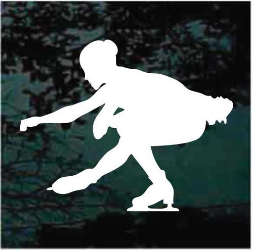 Figure Skating Squat Decals