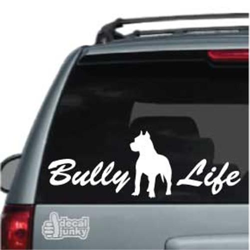 Bully Life Car Window Decals