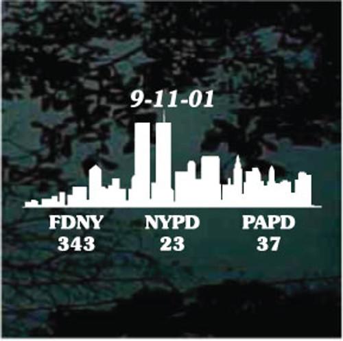 911 Fallen Heroes Decals