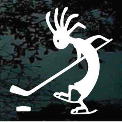 Kokopelli Hockey Player Decals
