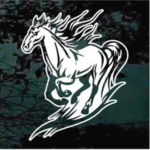 Detailed Running Horse
