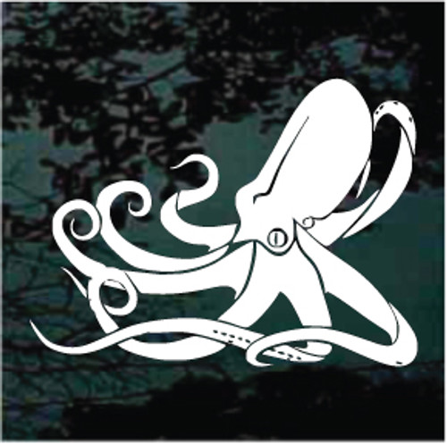 Cute Octopus Window Decals