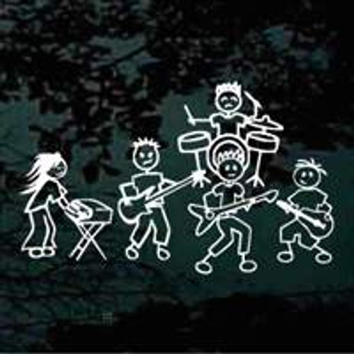 Stick Figures Rock Band