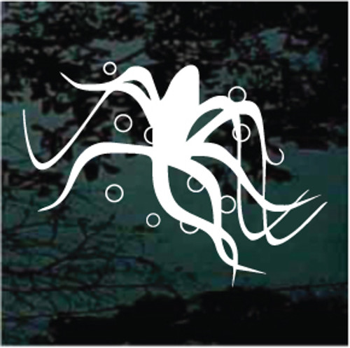 Neat Octopus Window Decals