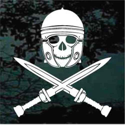 Spartan Skull Crossed Swords