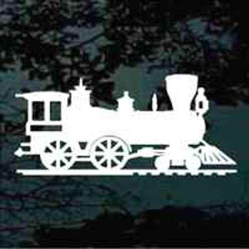 Locomotive Train Decals