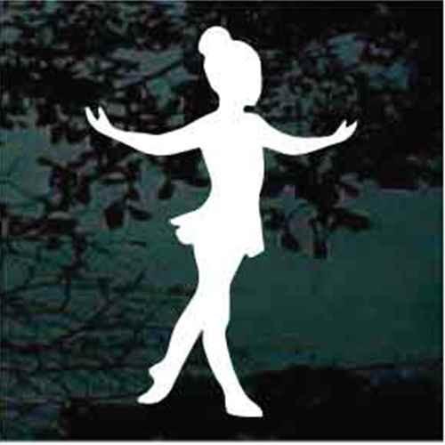 Tiny Dancer Ballerina Decals
