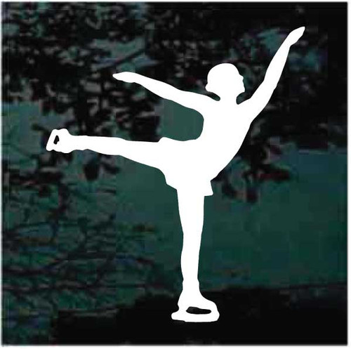 Female Figure Skater Decals